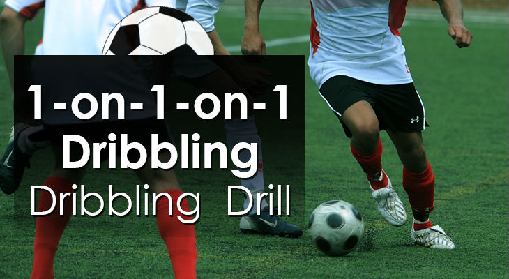 1-on-1-on-1 Dribbling - Dribbling Drill