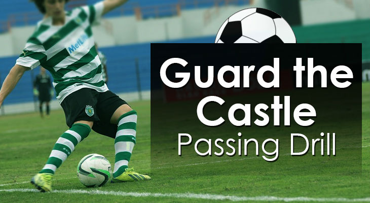 Guard the Castle - Passing Drill