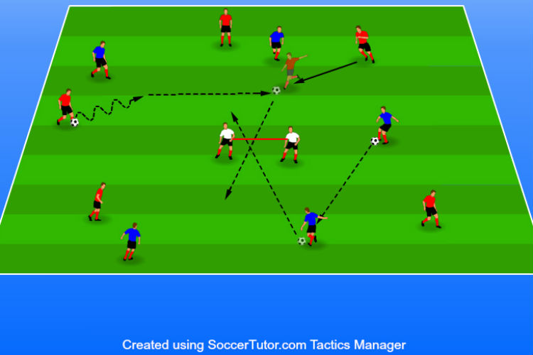 Moving Goal - Shooting Drill
