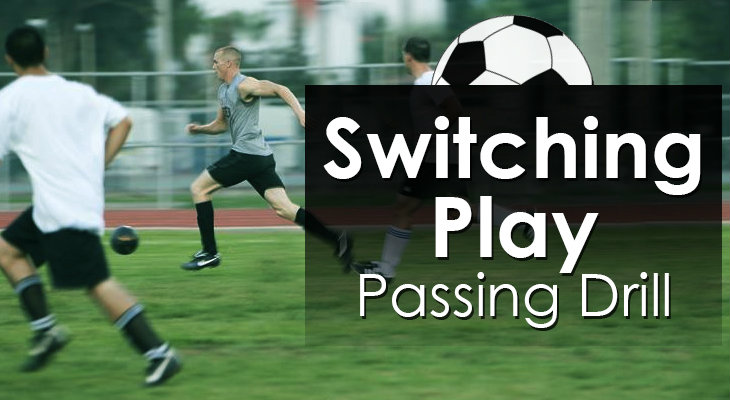 Switching Play - Passing Drill