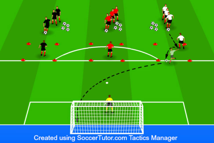 Turn and Shoot - Shooting Drill 1